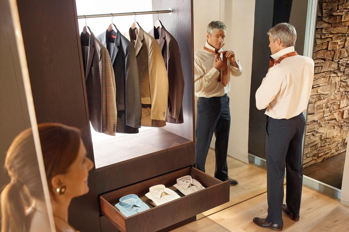 Wyposażenie garderob